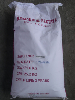 Амоній оцтовокислий (ацетат амонію)
