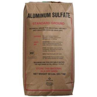 Алюміній сірчанокислий (сульфат алюмінію, коагулянт)