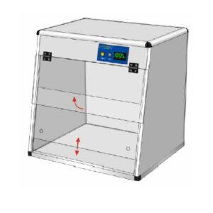 Бокс стерильний (ПЦР-бокс) БС-1, БС-2
