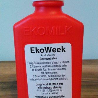 Миючий кислотний засіб для аналізатора молока Екомілк