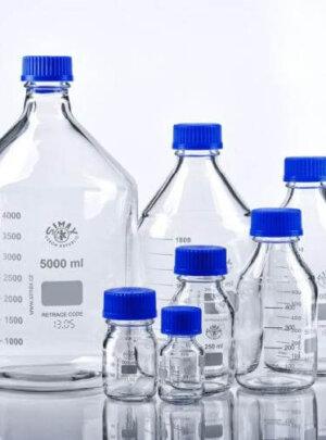 Бутлі / пляшки лабораторні