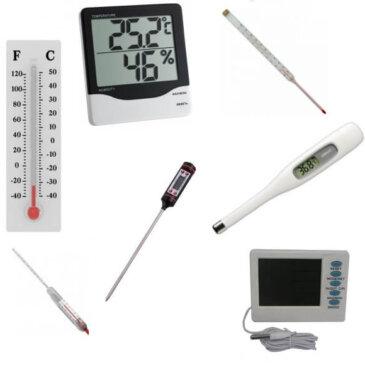 Термометри лабораторні