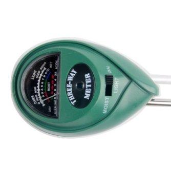 Тестер почвы G104 (рН кислотность, освещение, влажность)