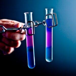 Пробирка лабораторная биологическая