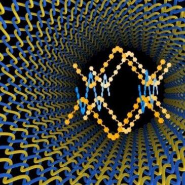 Созданы первые тканые материалы на атомном и молекулярном уровнях