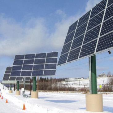 Изобретен способ получения электроэнергии от осадков снега