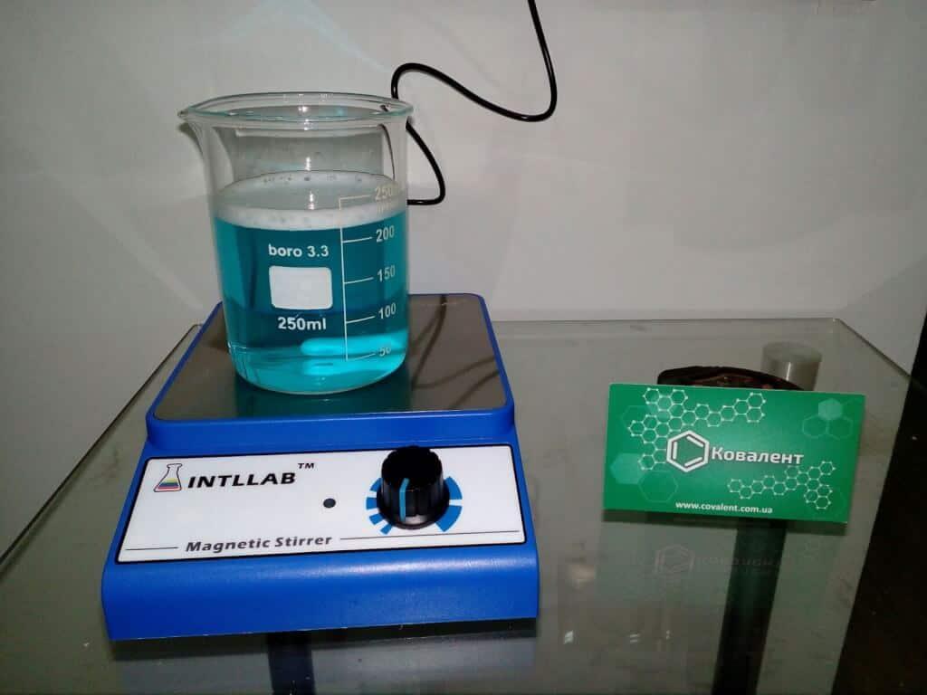 Мешалка лабораторная магнитная INTLLAB