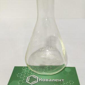 Коническая стеклянная термостойкая лабораторная колба